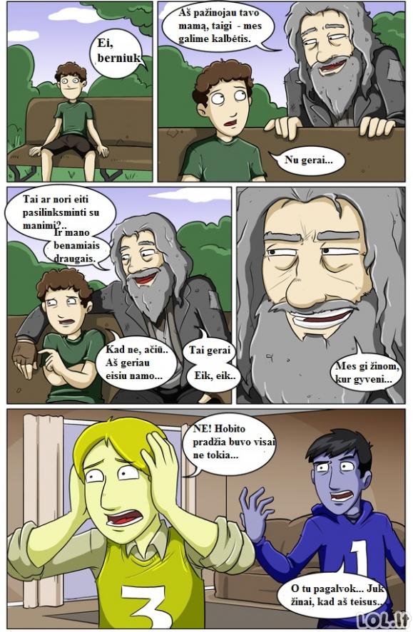 Hobitas - pradžia