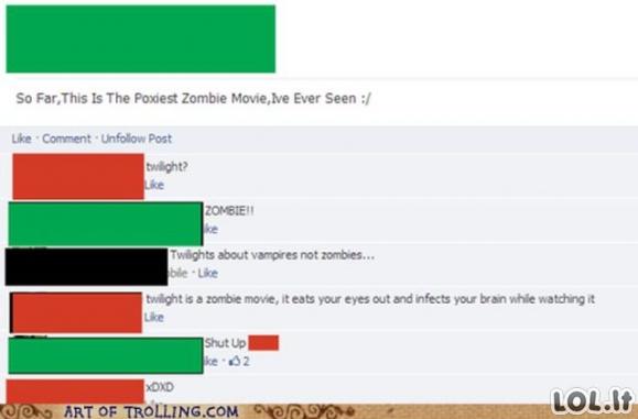 Tikro trolinimo pavyzdžiai