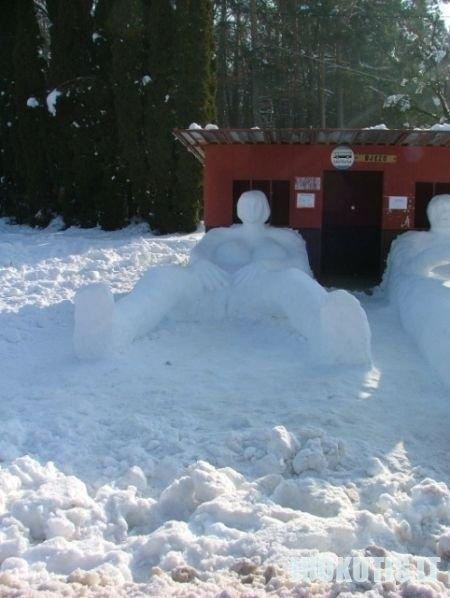 Sniego kūriniai