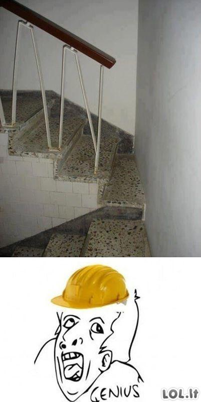 Absoliučiai idiotiški statybininkų feilai