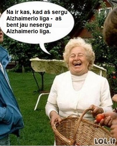 Alzhaimerio ligos pliusai