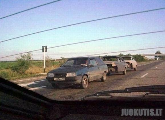 Automobilių mišrainė