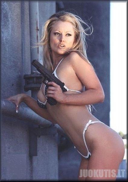 Girl + gun