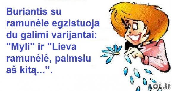 Tikrai lietuviški burtai