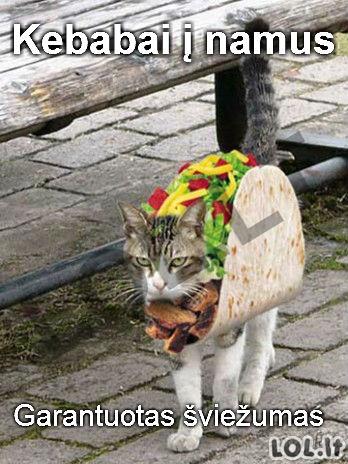 Naujausia kebabinių paslauga