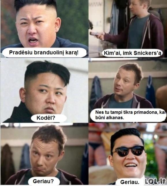 Tikroji Korėjos krizės paslaptis
