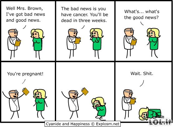 Gera ir bloga naujiena