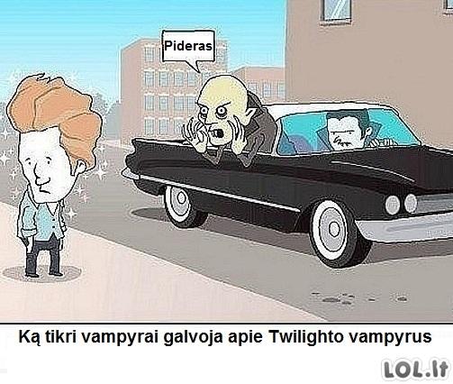 Ką vampyrai galvoja apie Twilightą
