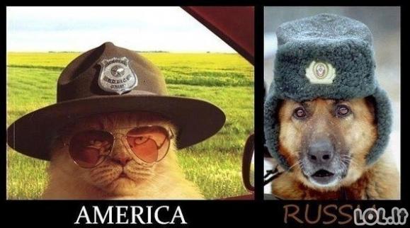 Amerikos ir Rusijos policininkai