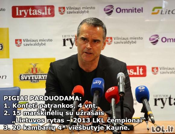 Lietuvos Rytas išsiparduoda