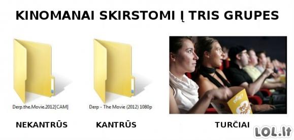 Kinomanų klasifikatorius