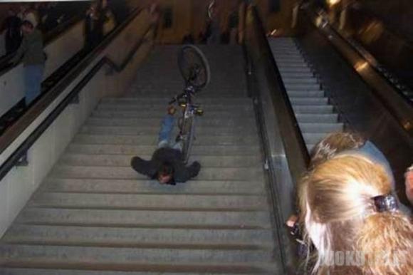 Bike fail