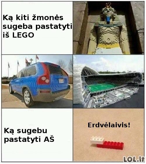 LEGO architektai laužo standartus