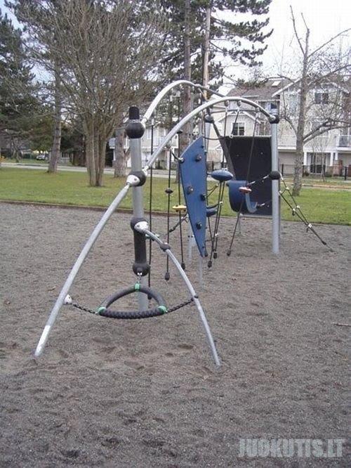 Vaikų žaidimo eikštelės