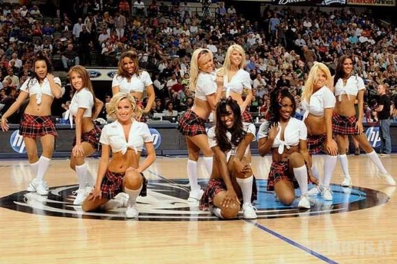 NBA šokėjos
