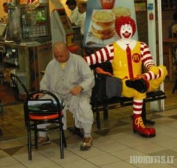 Macdonalds klounai