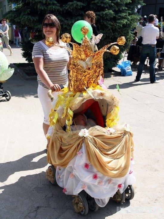 Vaikų vežimėlių paradas