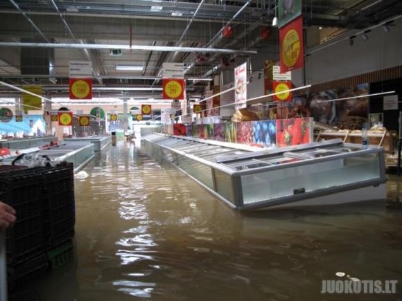 Supermarketas...