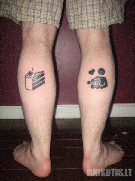 Įdomios tatoo