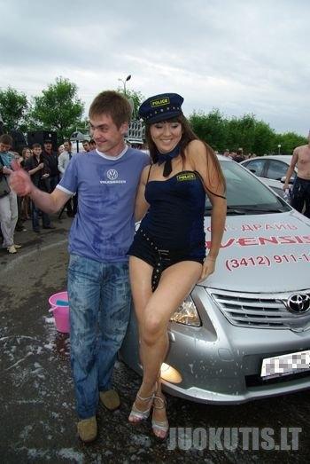 Autoparadas rusijoje