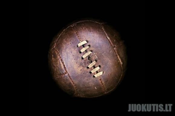 Kaip keitėsi kamuolys