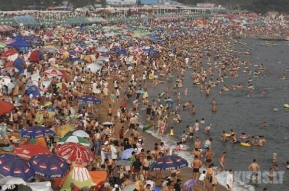 Kinėčiai pliaže