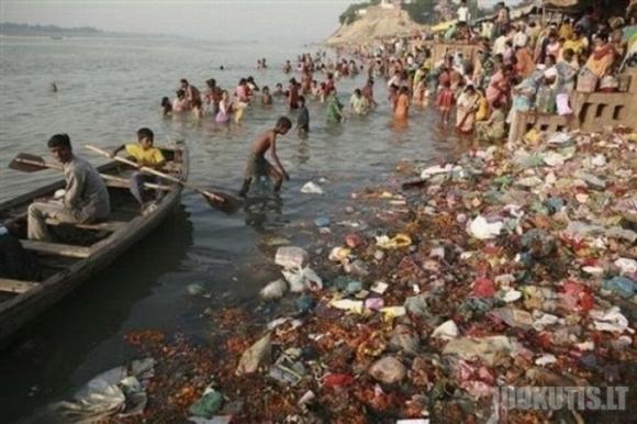 Labiausiai užterštos pasaulio upės