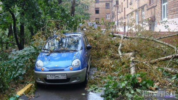 Uraganas Rusijoje