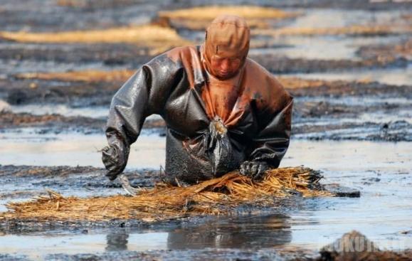 Naftos išsiliejimas
