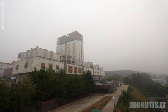Smogas apgaubė Maskvą