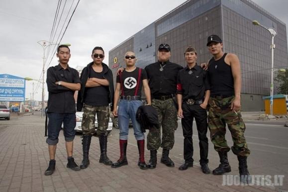 Skinai Mongolijoje