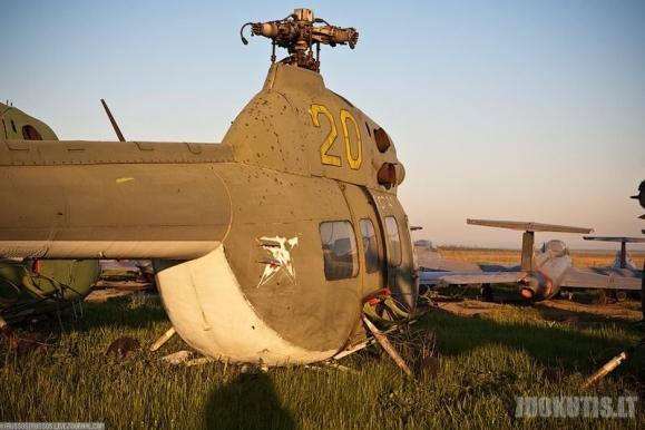 Apleistas oro uostas Ukrainoje
