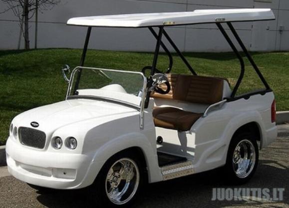 Tiuninguoti auto golfui