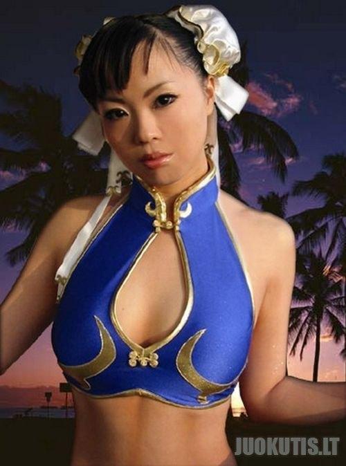 Žaidimo Street Fighter fanai