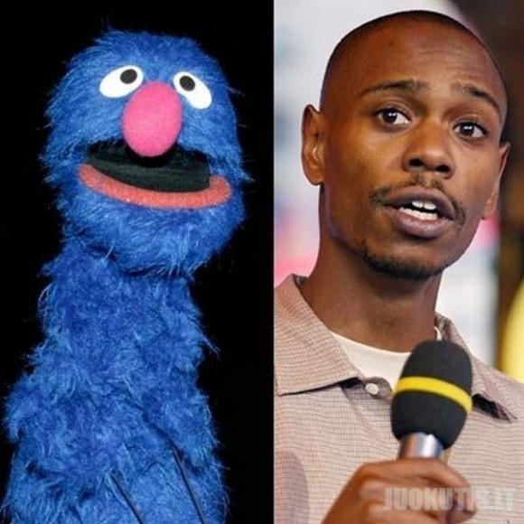 Lelės iš Muppet Show ir garsenybės