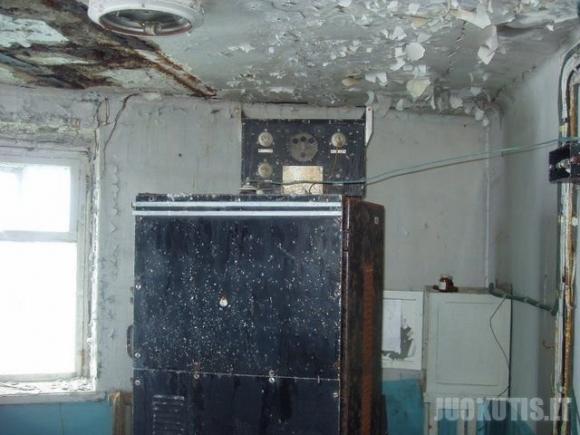 Apleistas sovietinis radioaktyvus švyturys