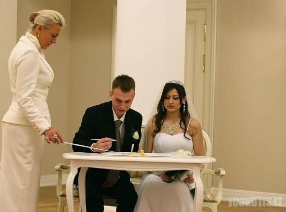 Nelaimingos vestuvių nuotraukos