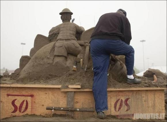 Smėlio skulptūros 2010