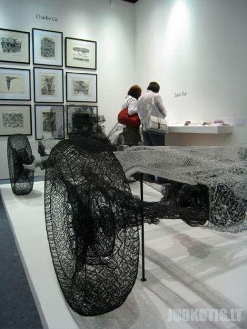 Skulptūros iš vėlos