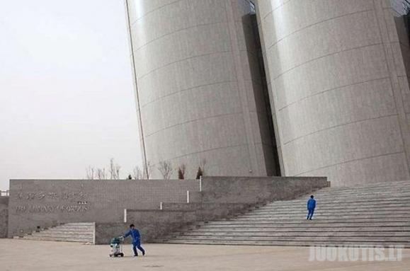 Miestas vaiduoklis Kinijoje