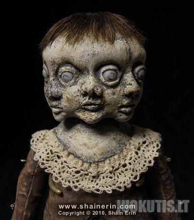 Siaubo lėlių kolekcija