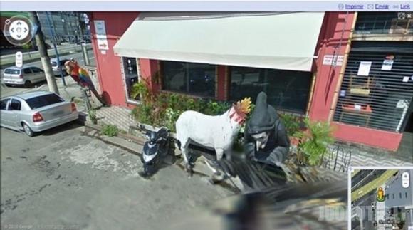 Google Street View Brazilijos gatvėse
