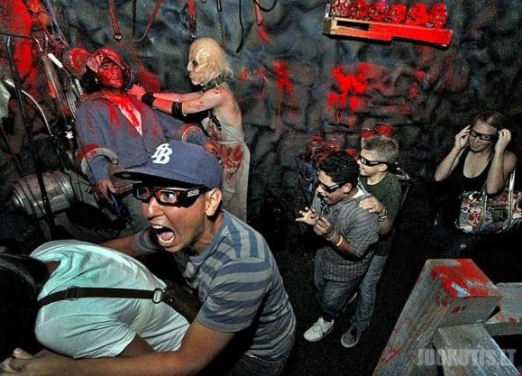 Universal Studios košmarų kambarys