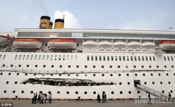 Laivų susidurymas