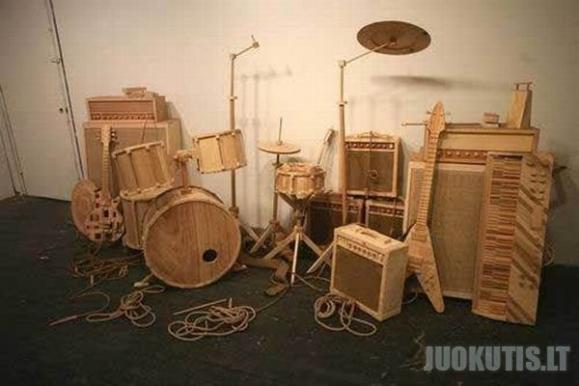 Darbai iš medienos