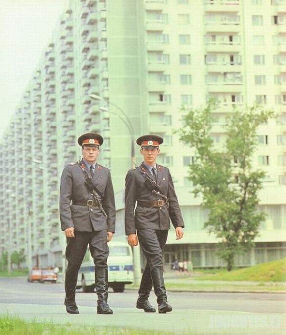 Sovietinių laikų milicija