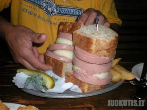 Nesveikas riebus maistas