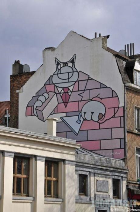 Gražiai nudažytos sienos