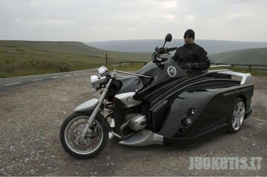 Super motociklas neįgaliesiems