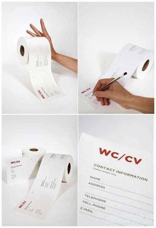 Išradingas tualetinis popierius (28 nuotraukos)